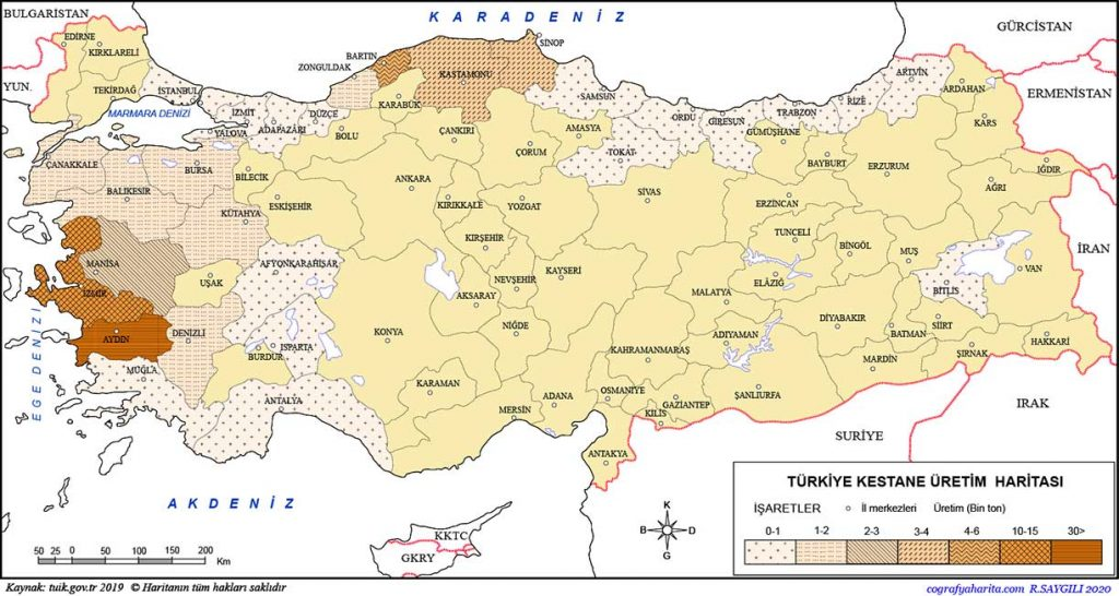 Turkiye 2019 kestane uretim haritasi - which fruits grow in turkey - It's essential to know which fruits grow in Turkey if you're planning to own farmland and plant your desired products. - https://scagriconsult.com/wp-content/uploads/2021/05/scagriconsult-main-logo.svg